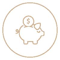Oszczędność <br /><strong>pieniędzy</strong>